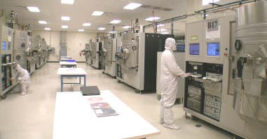 thin film coating clean room